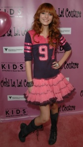 Bella Thorne in Ooh! La La! Couture's Varsity Dress