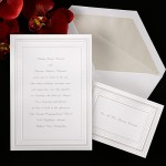Formal Engraved Invitation