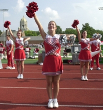 Types of Cheerleading - Scholastic/Collegiate