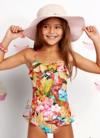 Seafolly Butterfly Coast Tube Tank