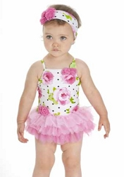 b95220a4f Top Baby Bathing Suit Looks: Infant Swimsuit Newborn-24 Months ...